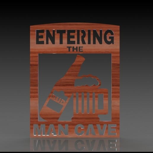Download 3D print files Man cave - sjablone, miranda77mr