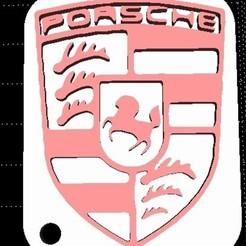 Imprimir en 3D gratis Llavero del Porsche, miranda77mr