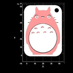 totoro.jpg Download STL file Totoro keyhanger  • Design to 3D print, miranda77mr