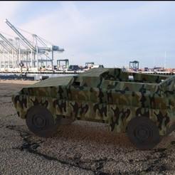 Descargar diseños 3D Camión del ejército, miranda77mr