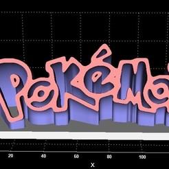 Impresiones 3D Pantalla de Pokemon, miranda77mr