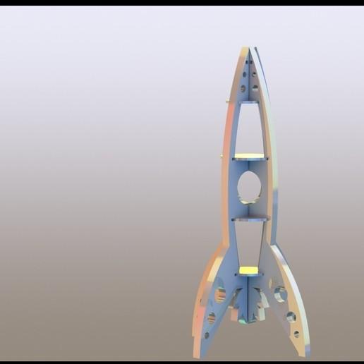 Download 3D model Rocket assembly, miranda77mr