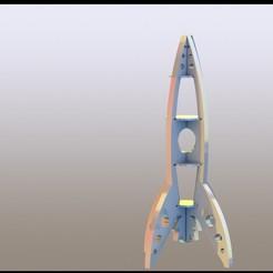 raket5.JPG Télécharger fichier STL Assemblage de fusées • Objet à imprimer en 3D, miranda77mr