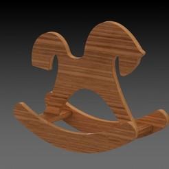 Horse render.JPG Télécharger fichier STL Cheval ondulant • Plan pour impression 3D, miranda77mr