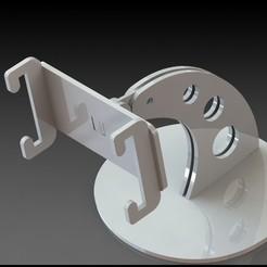 Download 3D printer designs Iphone 8 Plus phone holder incl. SLDPRT parts (SW2020), miranda77mr
