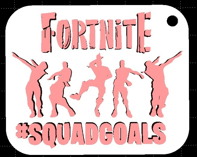Squadcults.jpg Download STL file Fortnite keyhangers  • 3D print model, miranda77mr