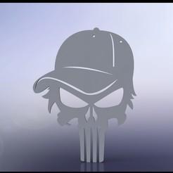 Punisher999.JPG Télécharger fichier STL Décalcomanie du punisseur • Modèle à imprimer en 3D, miranda77mr