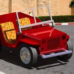 car rendarimg.jpg Download STL file Jeep  willys • 3D printable design, samio_browse