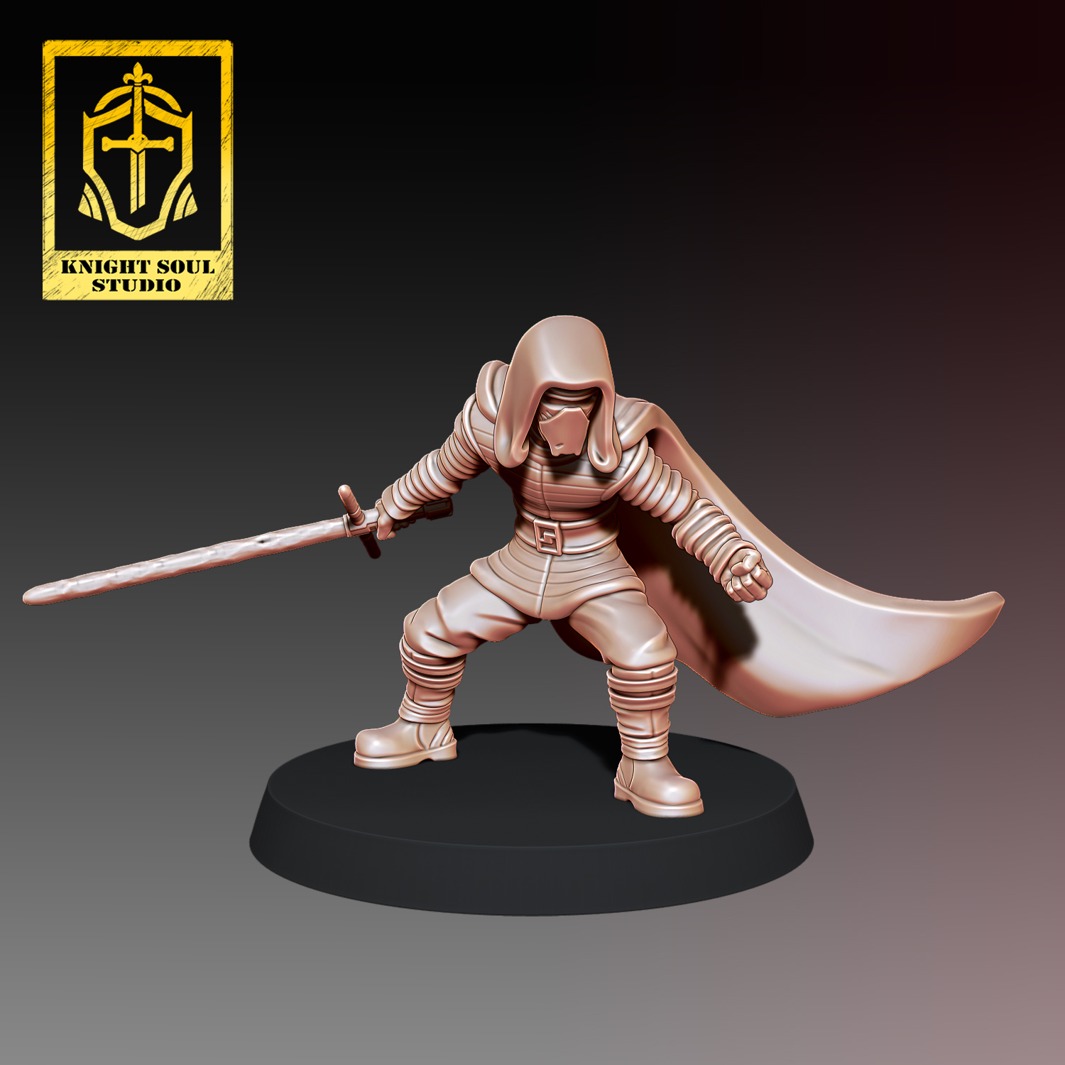 B.jpg Download STL file PACK LAST KNIGHT V FALLEN KNIGHT • 3D printer model, KnightSoul_Studio