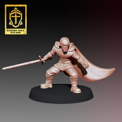 8.jpg Download STL file Fallen Knight • Object to 3D print, KnightSoul_Studio