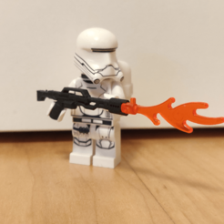 Download free STL file Star Wars Flametrooper Flame Thrower • 3D printing design, Galva101