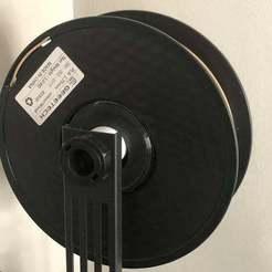 Download free 3D printing templates Filament bobbin spacer, TaTechLife