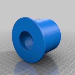 Descargar modelo 3D gratis Espaciador de bobina de filamento v2 con hombro, TaTechLife