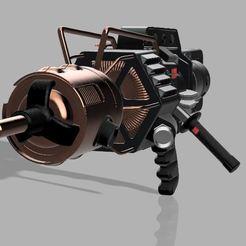 Descargar diseños 3D Cañón Black Mesa Tau, Jasperathome
