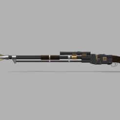 Download 3D printing templates Amban Rifle The Mandalorian, Jasperathome