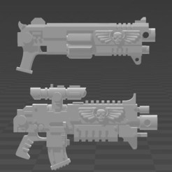 Download free STL file Revolving Bolt rifle, kiryans5
