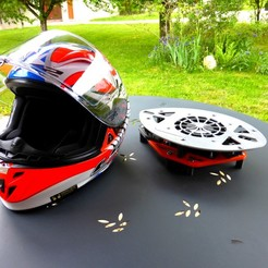 """P1040024.JPG Télécharger fichier STL gratuit Ventilateur casque moto - motorcycle helmet dryer """"single"""" • Objet pour imprimante 3D, jonathan68"""