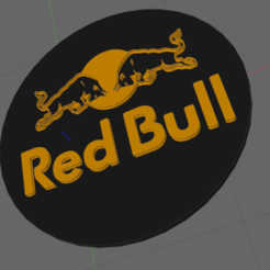 r.png Download STL file red bull • 3D printable object, IDfusion