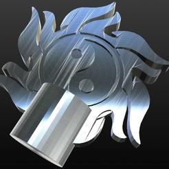 Descargar archivo STL figura del yin-yang • Objeto para imprimir en 3D, IDfusion