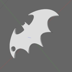 batman.png Download STL file batman key ring • 3D printing template, IDfusion