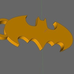 Download free 3D printing templates batman key ring, IDfusion