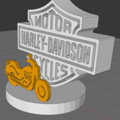 Download free 3D printer designs harley davidson, Idfusion