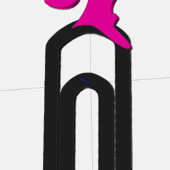 pop.png Download STL file bookmark barbie • Object to 3D print, IDfusion