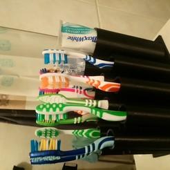 Imprimir en 3D Porta cepillos de dientes, IDfusion
