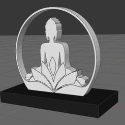 Descargar archivo STL figura zen • Plan para imprimir en 3D, IDfusion