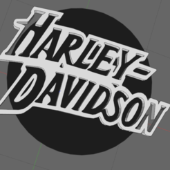 harley.png Download STL file harley davidson • 3D printable template, IDfusion