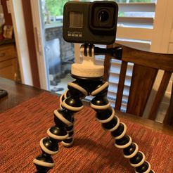 Télécharger fichier impression 3D GorillaPod GoPro Mount, etlevinefx