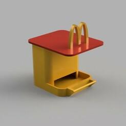 BF_McDo.jpg Télécharger fichier STL gratuit Bird Fast Food • Design à imprimer en 3D, alpo16000