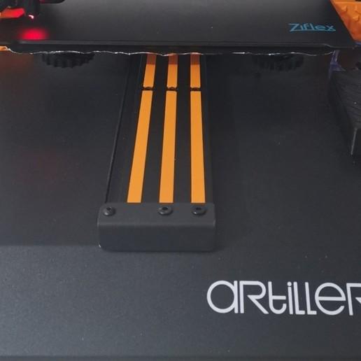 Télécharger fichier STL gratuit Slot Cover for Artillery Sidewinder X1 • Design à imprimer en 3D, alpo16000