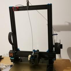 01.jpg Download free STL file Artillery Sidewinder X1 Side Spool Holder • 3D printing design, alpo16000