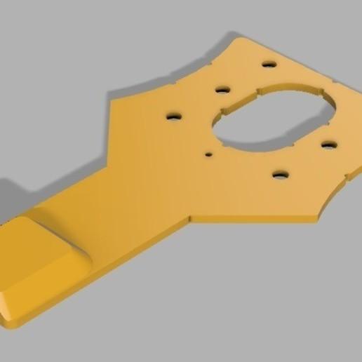 Support_gopro_image_render.jpg Download free STL file GoPro support for Artillery Sidewinder X1 • 3D printable object, alpo16000