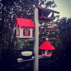 IMG_20201112_071223.jpg Télécharger fichier STL gratuit Bird Feeder (Mangeoire pour oiseaux) • Plan pour impression 3D, alpo16000