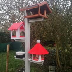 IMG_20201112_070749.jpg Télécharger fichier STL gratuit Bird Feeder (Mangeoire pour oiseaux) • Plan pour impression 3D, alpo16000