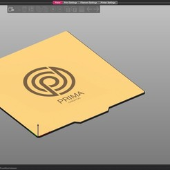 demo.jpg Download free STL file Prima Flex Plate Model for Prusaslicer • 3D print object, alpo16000
