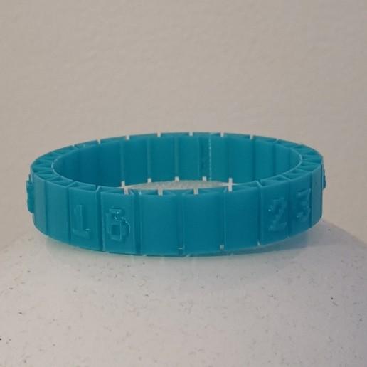 lottery.jpg Télécharger fichier STL gratuit Lost Numbers Bracelet • Modèle pour impression 3D, alpo16000