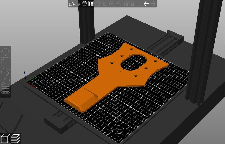Support_GoPro_prusaslicer.jpg Download free STL file GoPro support for Artillery Sidewinder X1 • 3D printable object, alpo16000