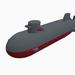Submarine.PNG Download free STL file Z-11 Custom Submarine (Regular Version) • 3D print object, alexsmunozn