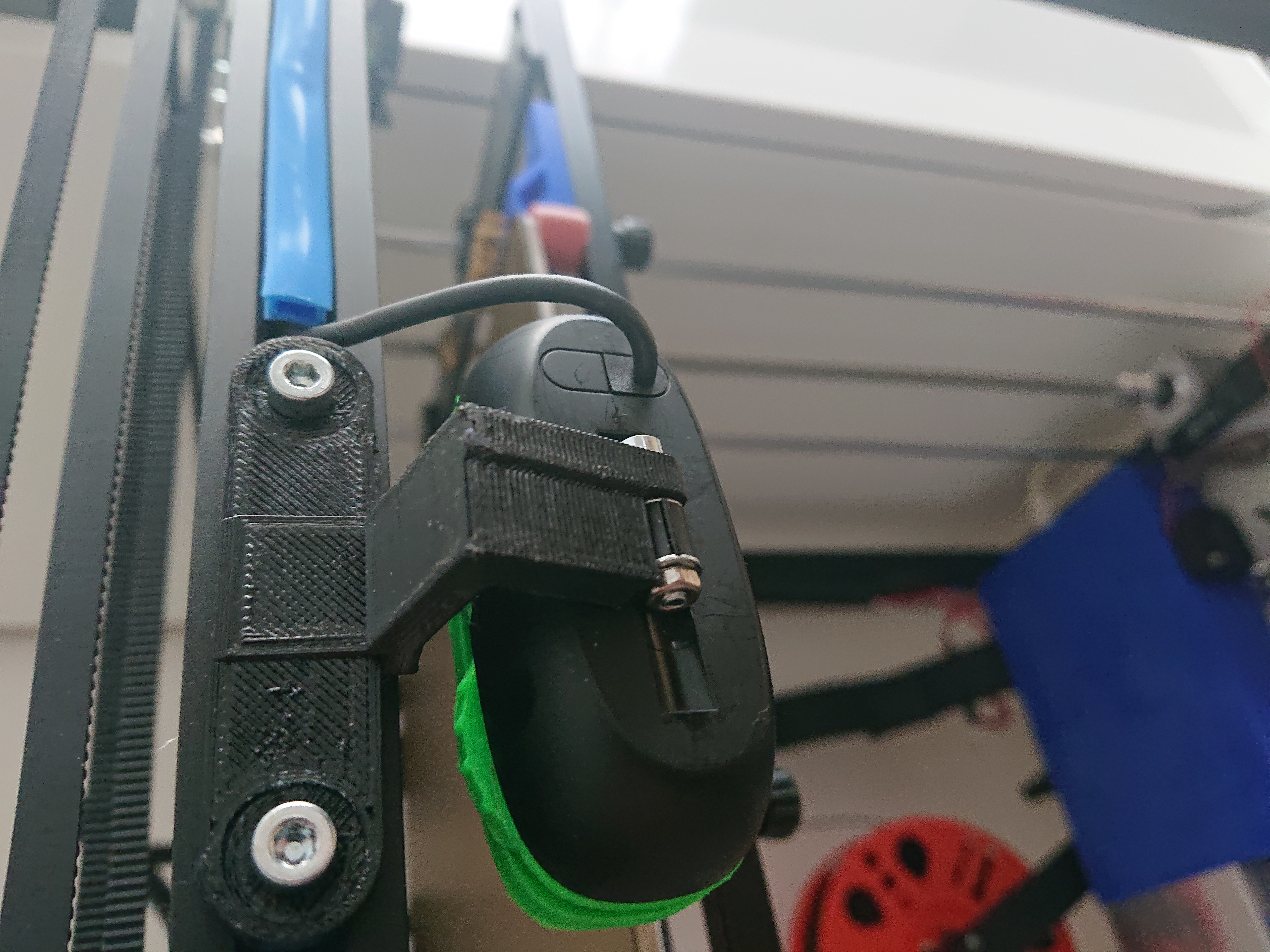 DSC_0585.JPG Download free STL file TronXY X5S Logitech C270 • 3D printer template, Raabi91