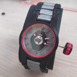 Watch.jpg Download free STL file Watch • 3D printable model, Serna_Design