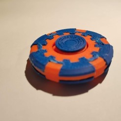 Download free 3D printer model Fidget coin, DSP27