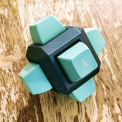 IMG_20190510_195424__01.jpg Download free STL file MX Fidget Cube • 3D printing design, judy2k