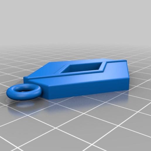 Télécharger objet 3D gratuit Renault portachiavi, Superline
