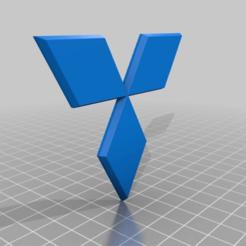 Télécharger fichier 3D gratuit Logo Mitsubishi, Superline