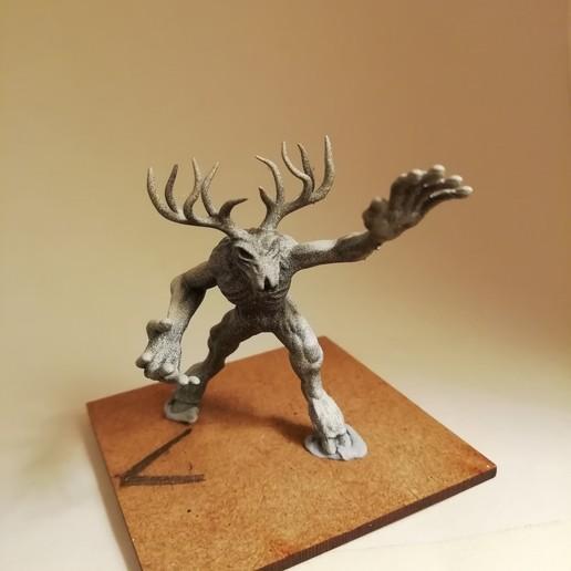 Download 3D Printer Model Wendigo Tabletop Miniature ・ Cults