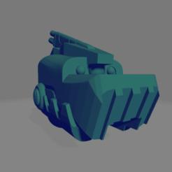 Tau-rex_battle_suit_head_side_angle.png Download free STL file Tau-Rex • 3D printer design, adamjlove92