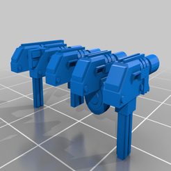Autopistol_family.png Download free STL file Autopistol Family • 3D printable object, adamjlove92